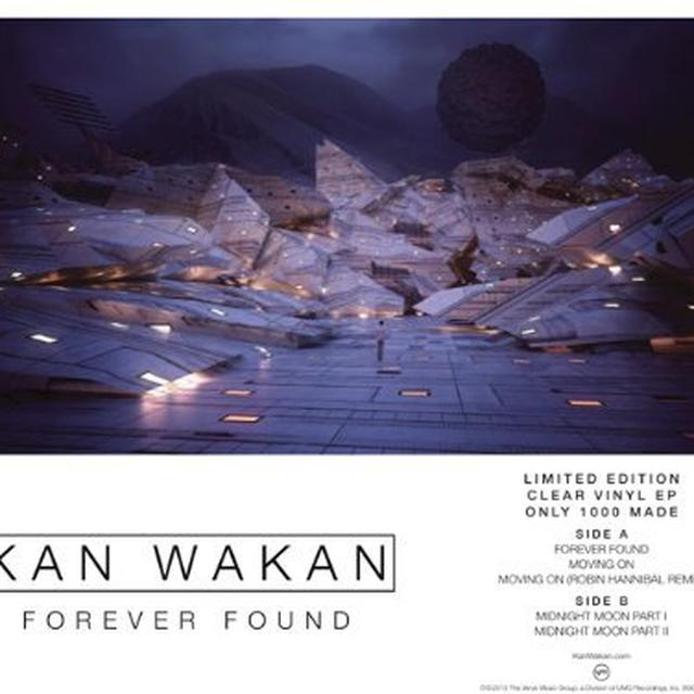 Kan Wakan FOREVER FOUND Vinyl Record