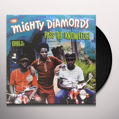 Mighty Diamonds PASS THE KNOWLEDGE - REGGAE ANTHOLOGY Vinyl Record