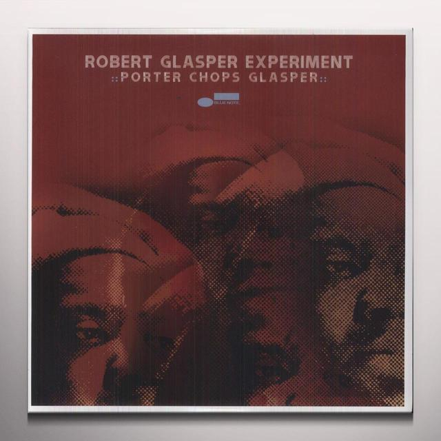 Robert Glasper Experiment PORTER CHOPS GLASPER Vinyl Record - 10 Inch Single, Colored Vinyl, Red Vinyl
