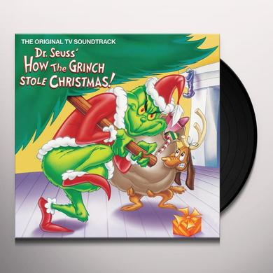 DR SEUSS HOW THE GRINCH STOLE CHRISTMAS / O.S.T. Vinyl Record