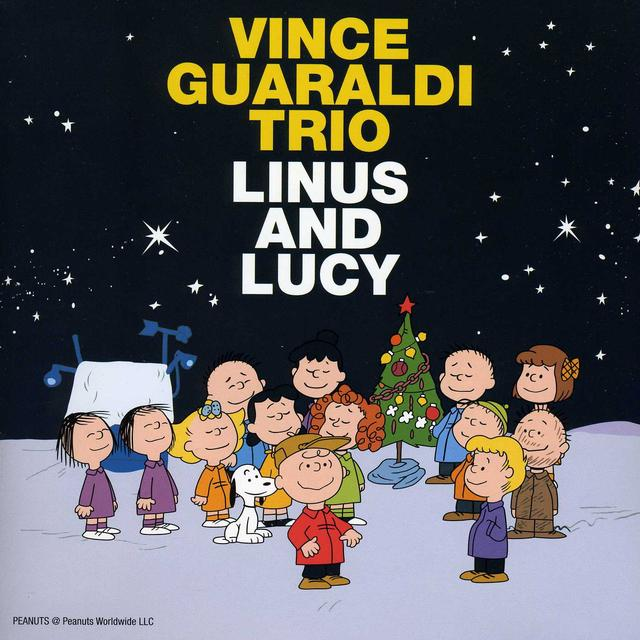 Vince Guaraldi LINUS & LUCY / OH GOOD GRIEF Vinyl Record - Colored Vinyl, Gold Vinyl
