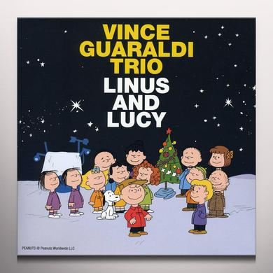 Vince Guaraldi LINUS & LUCY / OH GOOD GRIEF Vinyl Record - Colored Vinyl, Gold Vinyl