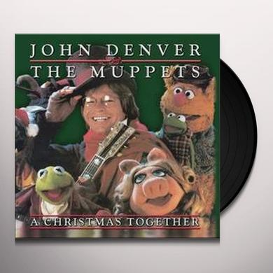 John Denver & Muppets CHRISTMAS TOGETHER Vinyl Record - Picture Disc