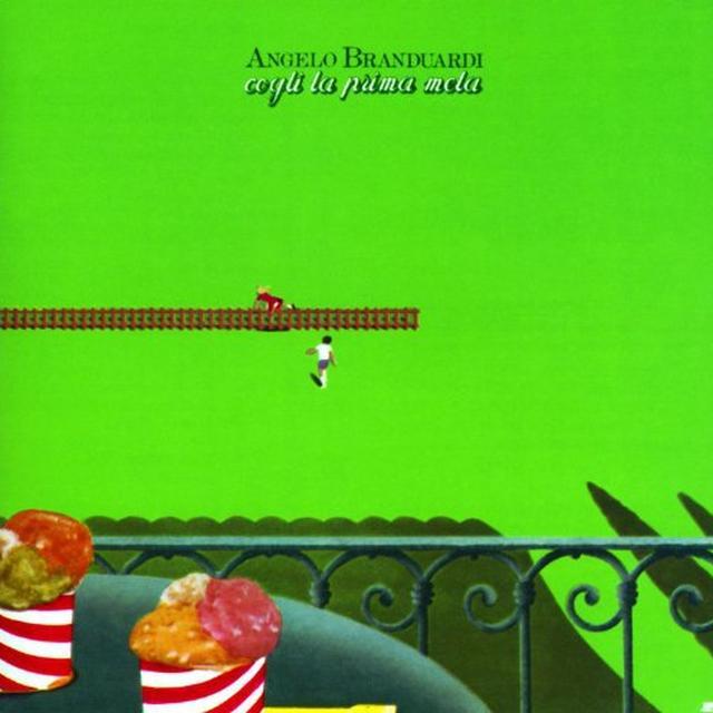 Angelo Branduardi COGLI LA PRIMA MELA Vinyl Record - Italy Import