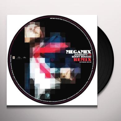 Jovanotti Vs Benny Benassi MEGAMIX REMIX Vinyl Record - Italy Release