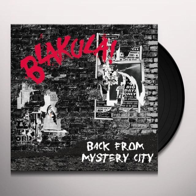 Blakula BACK FROM MYSTERY CITY Vinyl Record - Australia Import