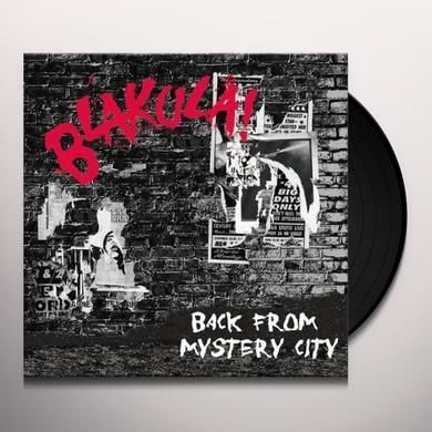Blakula BACK FROM MYSTERY CITY Vinyl Record - Australia Import