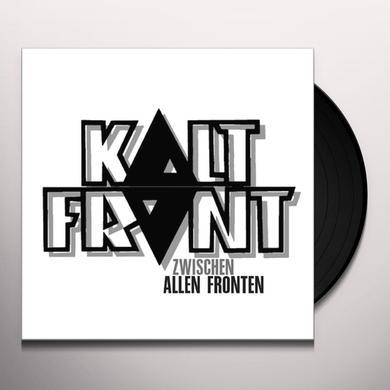 Kaltfront ZWISCHEN ALLEN FRONTEN Vinyl Record - Portugal Import