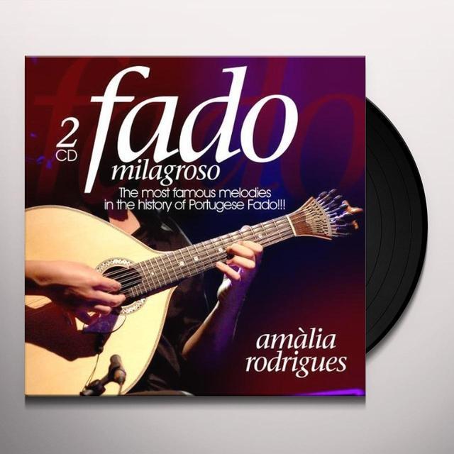 Amalia Rodrigues FADO MILAGROSO (GER) Vinyl Record