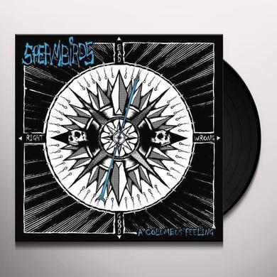 Spermbirds COLUMBUS FEELING-LIMITED SPLATT Vinyl Record - Portugal Import
