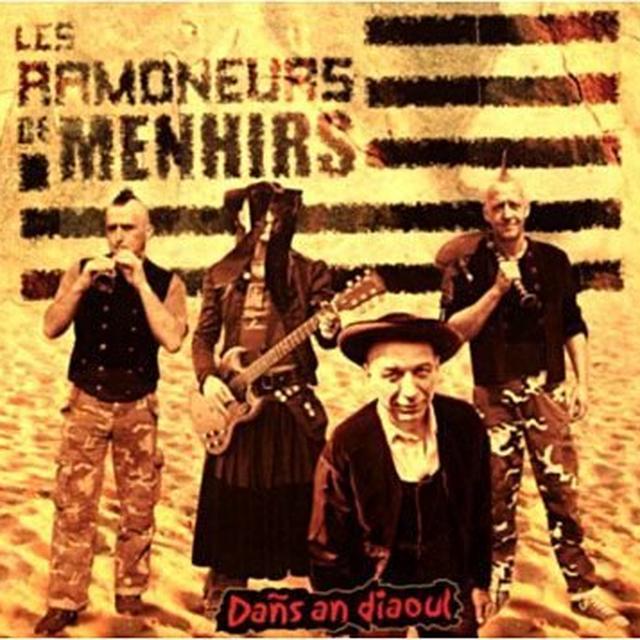 Les Ramoneurs De Menhirs DANS AN DIAOUL Vinyl Record