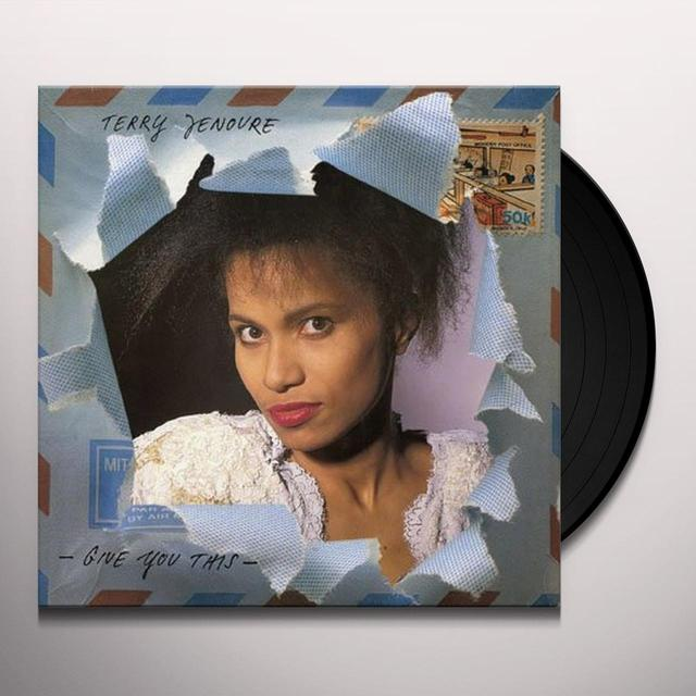 Terry Jenoure GIVE YOU THIS Vinyl Record - Holland Import