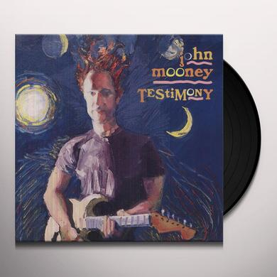 John Mooney TESTIMONY Vinyl Record - Holland Import