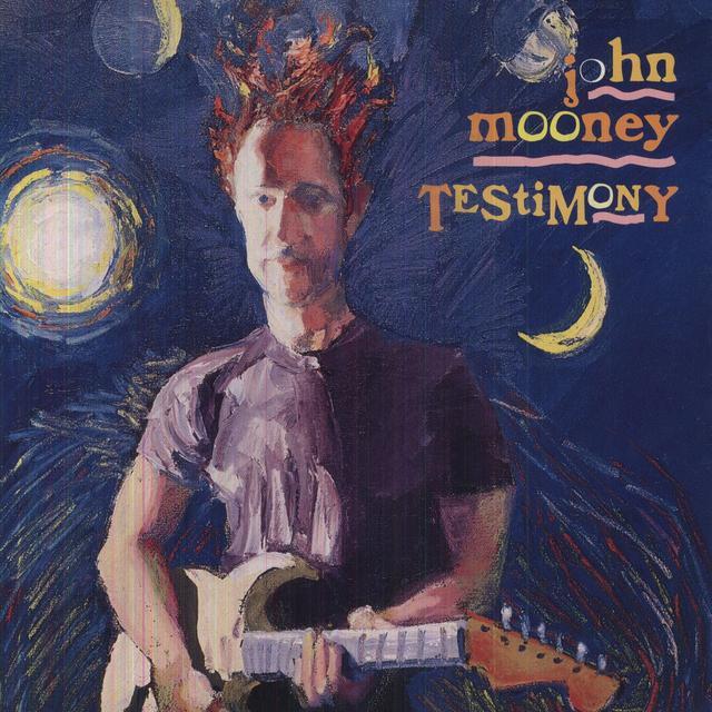 John Mooney TESTIMONY Vinyl Record - Holland Import