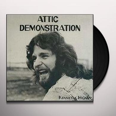 Kenneth Higney ATTIC DEMONSTRATION 1976 DEMO ALBUM Vinyl Record