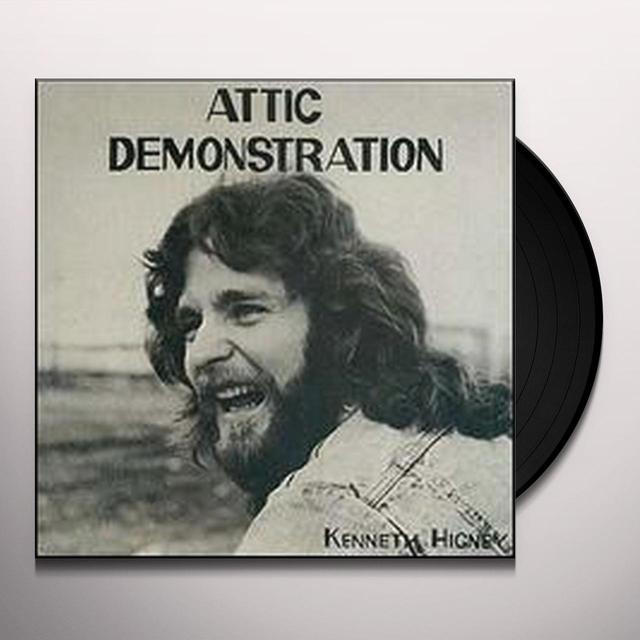 Kenneth Higney ATTIC DEMONSTRATION 1976 DEMO ALBUM Vinyl Record