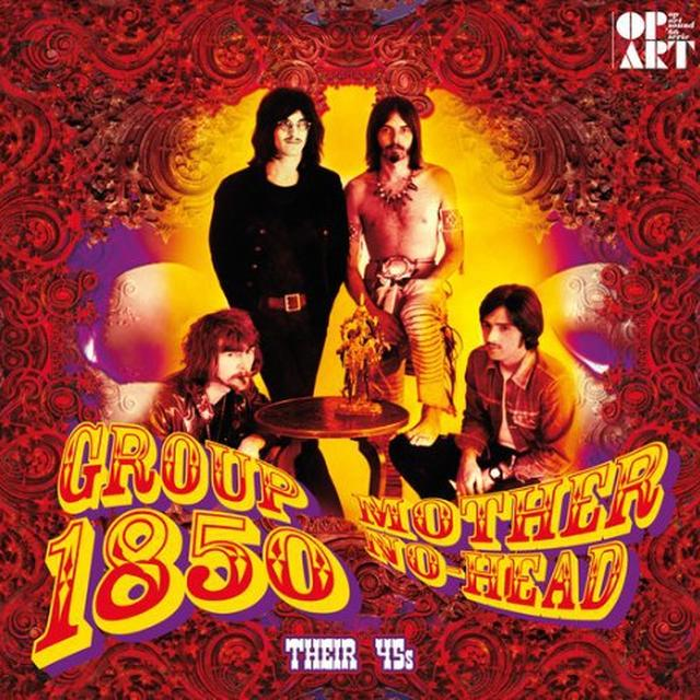 Group 1850 MOTHER NO-HEAD Vinyl Record - Holland Import