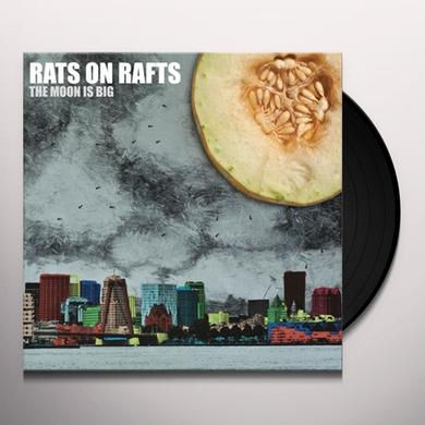 Rats On Rafts MOON IS BIG Vinyl Record - Holland Import