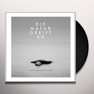 Vierkanttretlager DIE NATUR GREIFT AN Vinyl Record