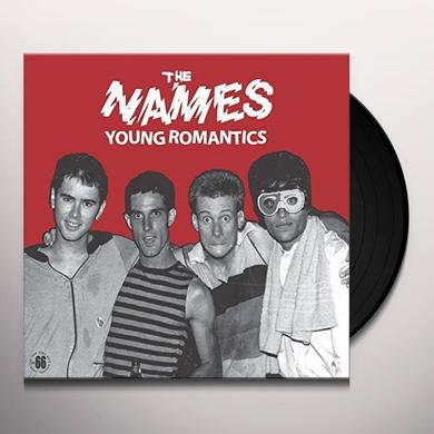 Names YOUNG ROMANTICS Vinyl Record - Holland Import