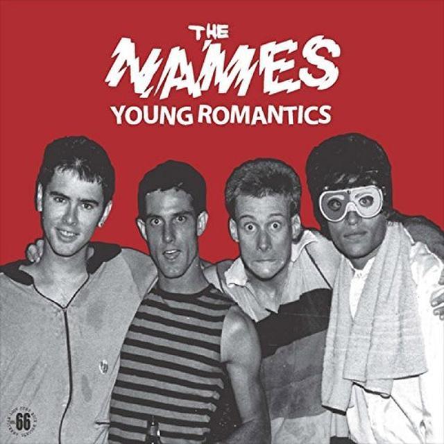 Names YOUNG ROMANTICS Vinyl Record - Holland Import