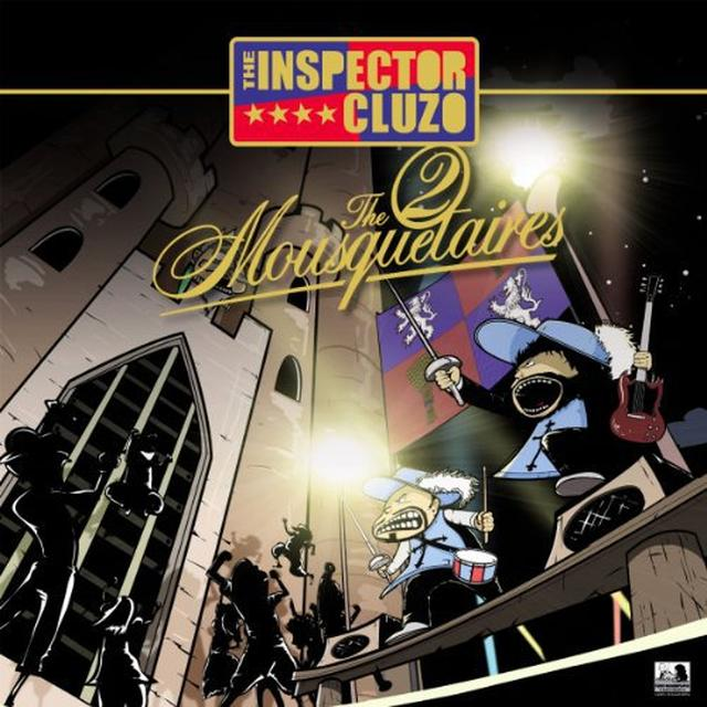 Inspector Cluzo TWO MOUSQUETAIRES Vinyl Record - Holland Import