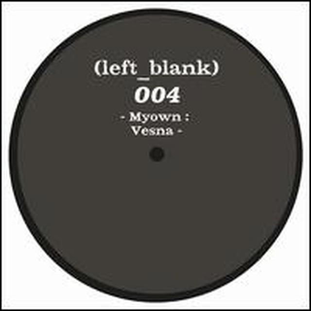 Myown 10-VESNA Vinyl Record - Holland Import