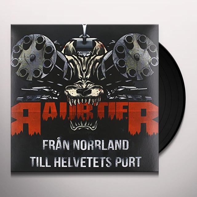 Raubtier FRAN NORRLAND TILL HELVETETS PORT Vinyl Record - Sweden Release