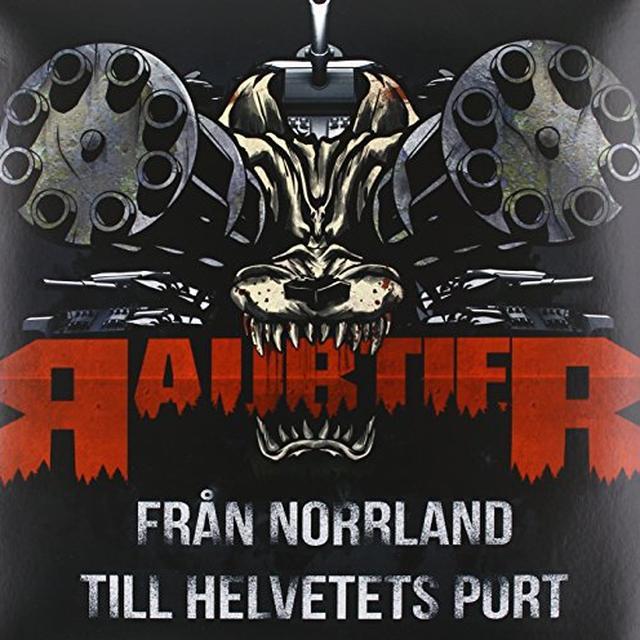 Raubtier FRAN NORRLAND TILL HELVETETS PORT Vinyl Record - Sweden Import