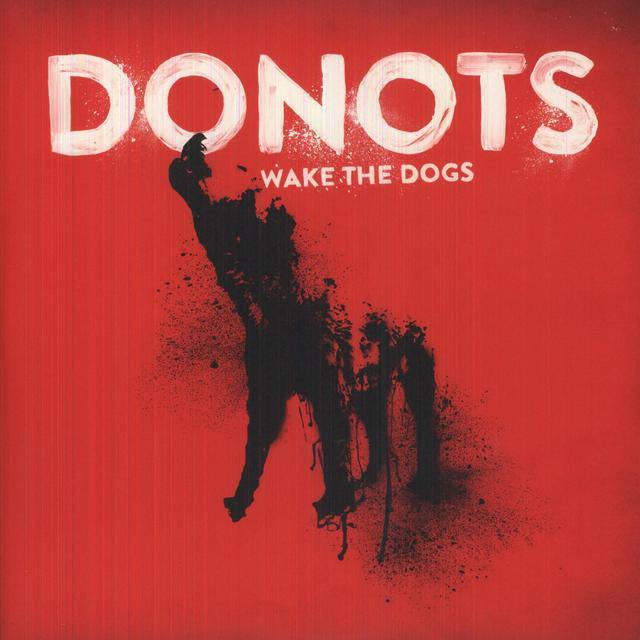 Donots WAKE THE DOGS Vinyl Record - Holland Import
