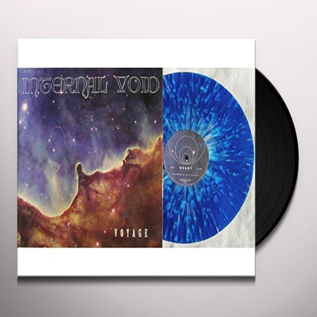 Internal Void VOYAGE (BLUE & WHITE VINYL) Vinyl Record