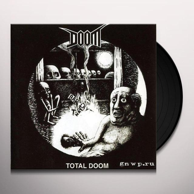 TOTAL DOOM Vinyl Record - Portugal Release