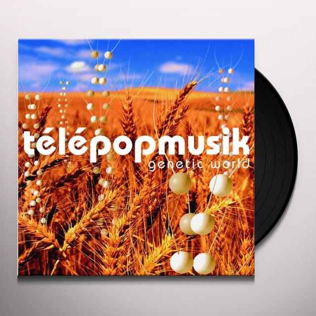 Telepopmusik GENETIC WORLD/2012 REISSUE 2 VINYL Vinyl Record - UK Release