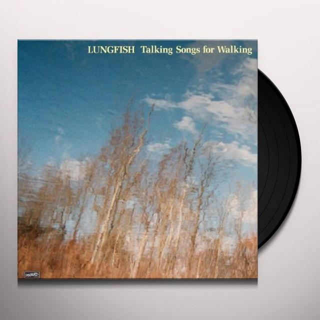 Lungfish TALKING SONGS FOR WALK Vinyl Record - Portugal Import