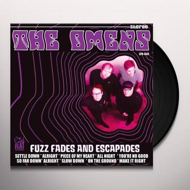 Omens FUZZ FADES & ESCAPADES (GER) Vinyl Record