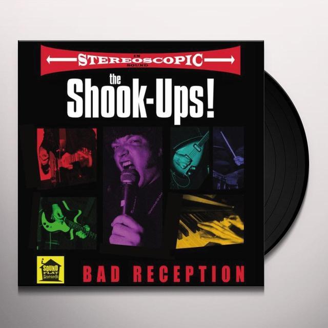 Shook-Ups BAD RECEPTION (GER) Vinyl Record