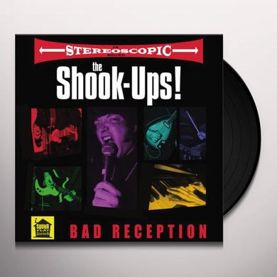Shook-Ups BAD RECEPTION Vinyl Record