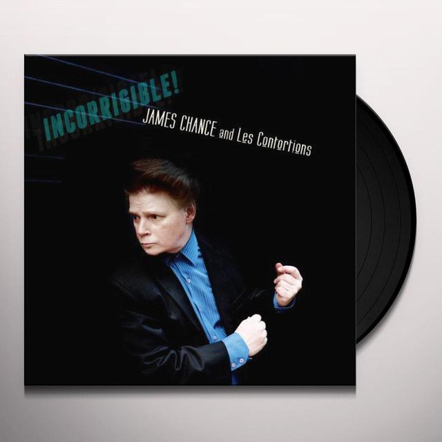 James Chance & Les Contortions INCORRIGIBLE! (GER) Vinyl Record