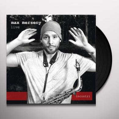 Max Merseny INCONTRI-LIVE -EP W/MP3 (GER) Vinyl Record
