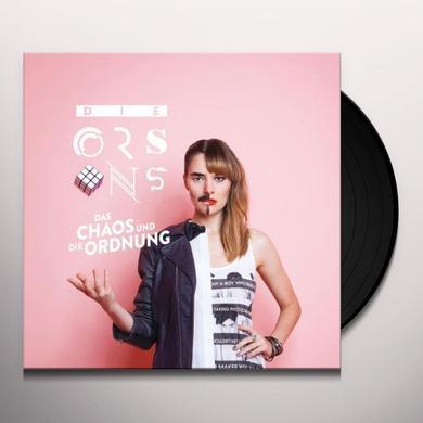 Orsons DAS CHAOS UND DIE ORDN (GER) Vinyl Record