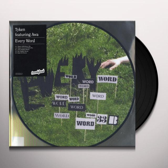 Tyken EVERY WORD Vinyl Record