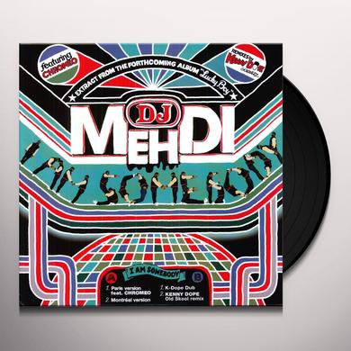 Dj Mehdi I AM SOMEBODY Vinyl Record - Holland Import