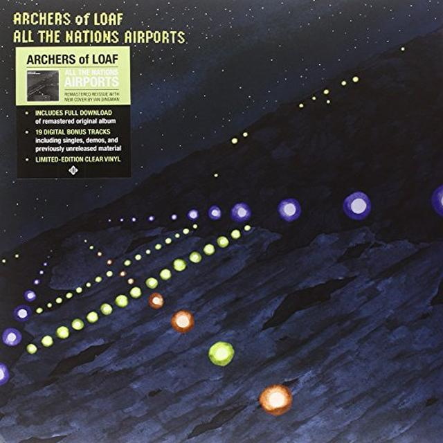 Archers Of Loaf ALL THENATIONS AIRPORTS (DELUXE) Vinyl Record - UK Import