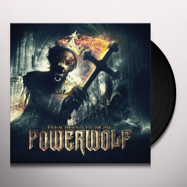 Powerwolf PREACHERS OF THE NIGHT (GER) Vinyl Record