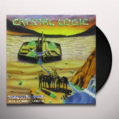 Manilla Road CRYSTAL LOGIC (GER) Vinyl Record