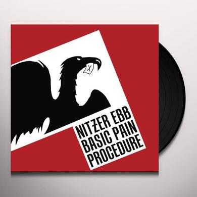Nitzer Ebb BASIC PAIN PROCEDURE (GER) Vinyl Record