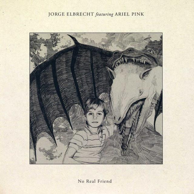 Ariel Pink/Jorge Elbrecht HANG ON TO LIFE B/W NO REAL FRIEND Vinyl Record - UK Import