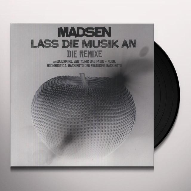 Madsen LASS DIE MUSIK AN (GER) Vinyl Record