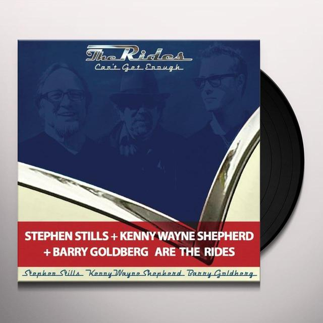 Rides (Shepherd/Stills/Goldberg) CAN'T GET ENOUGH Vinyl Record - UK Import