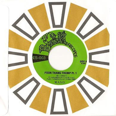 M.A.S.O. POON THANG THUMP 1 & 2 Vinyl Record